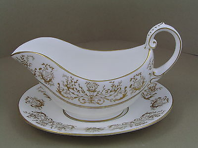 Coalport Allegro Gravy Boat And Saucer.