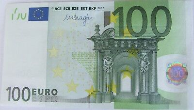 European Union/ Austria (N) 2002 100 Euro € note - very nice authentic bill