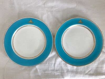 Pair of Minton  Mintons Plates Manufactured for Phillips