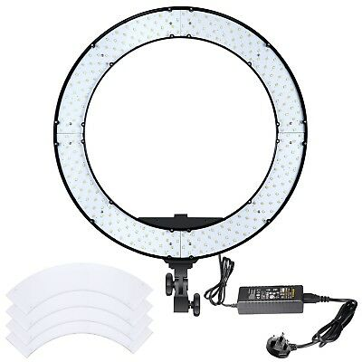 Neewer 18 inches 55W LED Ring Light - Dimmable Bi-color Lighting Kit with LCD