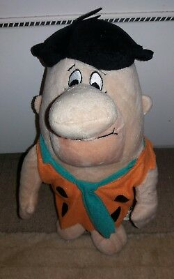 Plush Fred Flintone soft toy The Flintstones