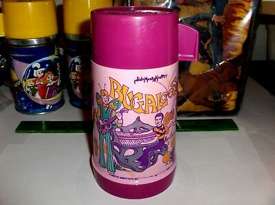 Sid & Marty Krofft`1971`Bugaloos,Aladdin Ind-Plastic Lunchbox-Thermos-Free To US