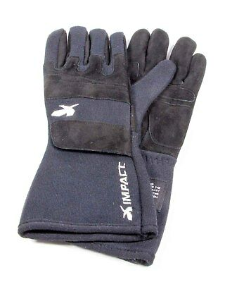 Impact Racing Double Layer Small Black G4 Driving Gloves P/N 34013310