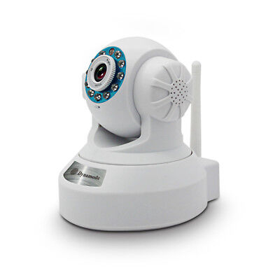 NEW! Dynamode Smartphone Ready Wireless Colour Ip Camera With Zoom White DYN-630