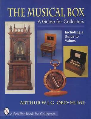 Pre 1900 Antique Disc & Cylinder Music Box Collector Guide Regina Swiss & Others