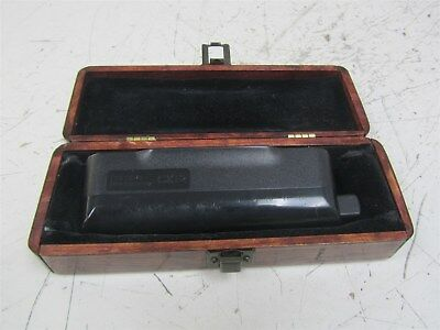 Used Hohner CX-12 chromatic harmonica in wood case