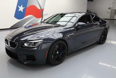 2014 BMW M6 Base Coupe 2-Door 2014 BMW M6 COUPE EXECUTIVE M DCT NAV HUD 20'S 7K MILES #160099 Texas Direct