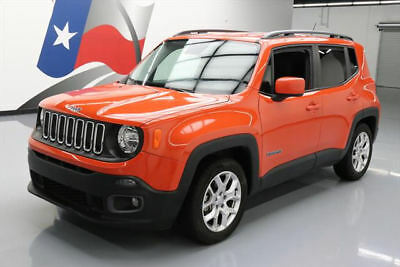 2015 Jeep Renegade  2015 JEEP RENEGADE LATITUDE AUTO REAR CAM BLUETOOTH 31k #B96077 Texas Direct