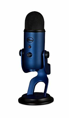 NEW! Blue Microphones Yeti USB Microphone - Midnight Blue