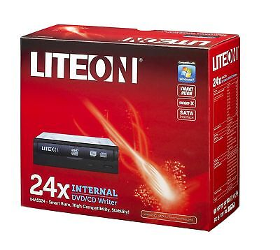 NEW! LiteOn IHAS324-17 24x DVDRW Retail Kit