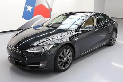 2013 Tesla Model S  2013 TESLA MODEL S 85 PANO SUNROOF NAV HTD LEATHER 51K #P09108 Texas Direct Auto