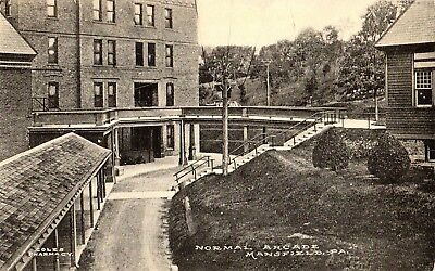 The Arcade at The Normal School in Mansfield PA 1910