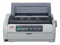 NEW! OKI 01268501 Microline 5721Eco Printer Monochrome Dot-Matrix 406 Mm Width 9