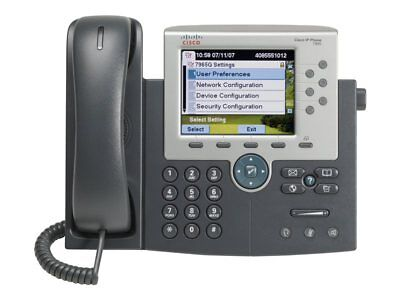 NEW! Cisco CP-7965G= Unified Ip Phone 7965 Gig Ethernet Color