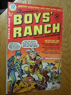 Boys Ranch #2 G+ classic Simon and Kirby