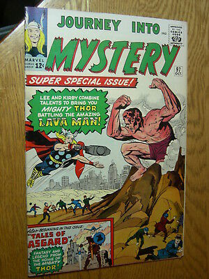 Journey into Mystery #97 VG/F first appearance Lava Man