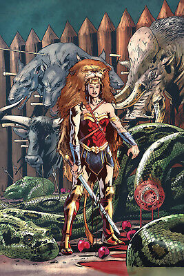 Wonder Woman #32 No Extra P&p Near Mint First Print Bagged And Boarded