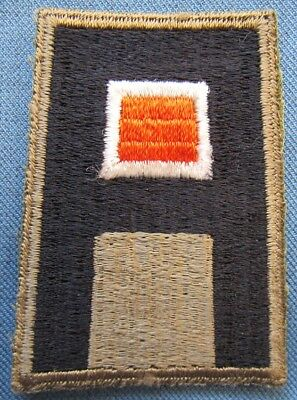 Original WWII US 1st Army Signal Corps shoulder patch