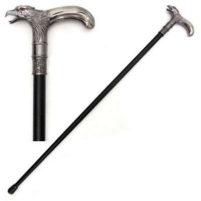 Eagle Head Screw Top Cane Walking Stick