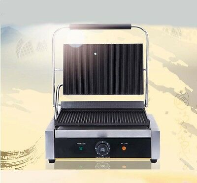 Commercial 2200W Stainless Steel Thickened Hot Plate Pressplate Electric Grill *