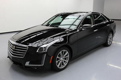 2017 Cadillac CTS  2017 CADILLAC CTS 3.6 LUX PANO SUNROOF NAV REAR CAM 16K #141904 Texas Direct