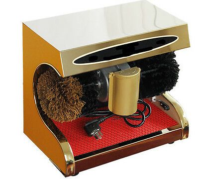 New Gold High End Stainless Steel Automatic Induction Home Public Shoe Dryer &$