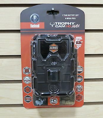 New Bushnell Trophy Cam 8MP HD Max Scouting Trail Camera 119678C