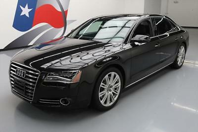 2013 Audi A8 Premium Sedan 4-Door 2013 AUDI A8 L AWD QUATTRO 3.0T SUNROOF NAV 20'S 33K MI #006622 Texas Direct