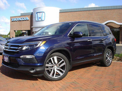 2016 Honda Pilot AWD 4dr Elite w/RES & Navi 4 HEATED SEATS & STEERING WHEEL+REAR ENTERTAINMENT+MORE!