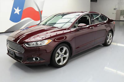 2013 Ford Fusion SE Sedan 4-Door 2013 FORD FUSION SE ECOBOOST BLUETOOTH SPOILER 52K MI #127841 Texas Direct Auto