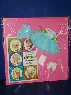 TUTTI Barbie Doll COME TO MY PARTY #3607 Outfit MOC! Mattel 1967