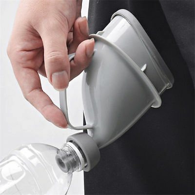 Portable Urinal Funnel Travel Urine Camping Toilet Lady Women Children Kids Pee
