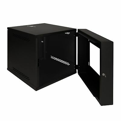 New ICC Wall Mount Enclosure Cabinet 12 RMS ICCMSWMC12 633758092210