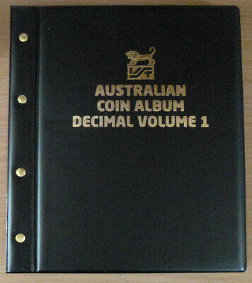 VST Large $1 COIN COLLECTION ALBUM with 6 PAGES holds 336 COINS MINTAGES shown