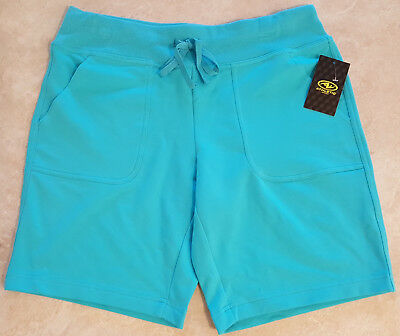 "Womens Bermuda French Terry Shorts w/9"" Inseam: S-M-L-XL-XXL"