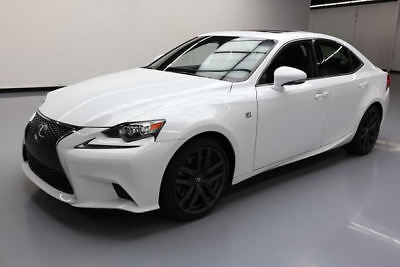 2016 Lexus IS200t  2016 LEXUS IS200T TURBO F-SPORT SUNROOF REAR CAM 8K MI #006474 Texas Direct Auto