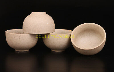 4 Perfect Handmade Ceramic Cup Small Bowl Collectable