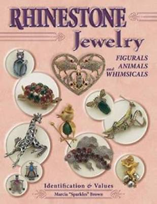 SALE Rhinestone Jewelry book Figural Animal Whimsical