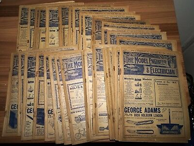 The Model Engineer and Electrician Magazine 39 copies?  April 1912-Jan 1913