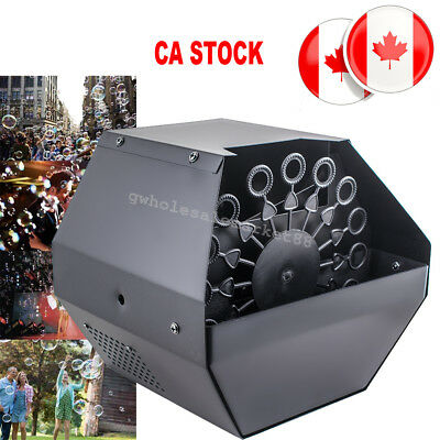 Bubble Machine Remote Contol Stage Effect Machine special effects CA STOCK