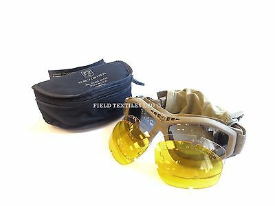REVISION Bullet Ant TAN SAND Tactical Goggles Protection British Army G2805