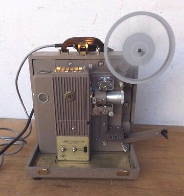 Lafayette Analyser Filmprojektor in Kasten- Vintage- Made in France-Funktioniert