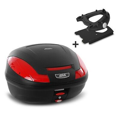 Top Box Set Givi Triumph Bonneville T120 2016 Monolock E470N black