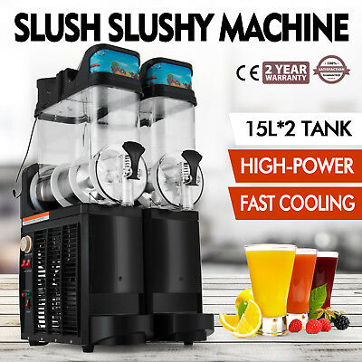 Slush Making Machine Frozen Drink Slushy Smoothie Maker High Power Low Noise Tea