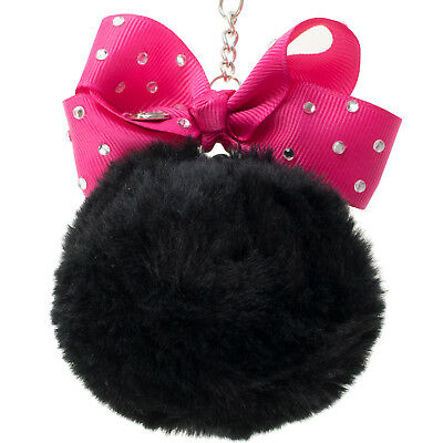 JoJo Siwa Keyring | Girls Jojo Siwa Pom Pom Keychain | Kids Jojo Key Holder