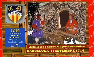 B.u.m Serie 1/72 - Barcelona 11 Setembre 1714 - Limited Box With Resin Diorama