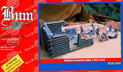 B.u.m Serie 1/72 - French-Indian War - Last Mohican - Massacre - Box Rare