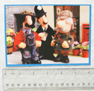 postcard Postman Pat - Ted Glen, PC Selby and Major Forbes...