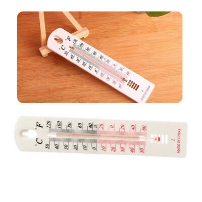 -50~500C/-60~1200F Wall Thermometer in/Outdoor Garden Kitchen Office Durable new