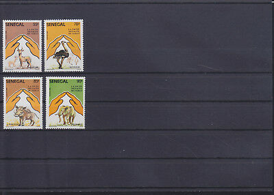 054874 Vögel Birds ... Senegal 909-12 ** MNH Year 1987